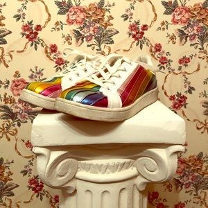 Wanted rainbow sneakers